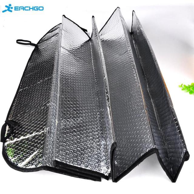 2018 Car styling 130 60cm Window Foils Windshield Sun Shade Car Windshield  Visor Cover Block Front Window Sunshade Protect Car ccdd540fdb8