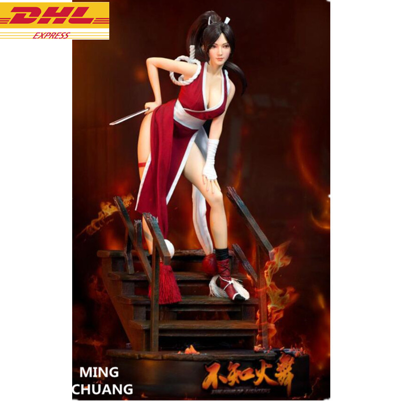 Statua di THE KING OF FIGHTERS Busto XIII Mai Shiranui Action Figure Ver 1:4 GK Anime Sexy Figure 50 CENTIMETRI di DIALOGO d873Statua di THE KING OF FIGHTERS Busto XIII Mai Shiranui Action Figure Ver 1:4 GK Anime Sexy Figure 50 CENTIMETRI di DIALOGO d873