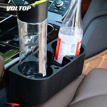 Support de verre de voiture organisateur Portable multifonction sous verres de voiture siège Gap tasse bouteille téléphone porte boissons Stand boîtes