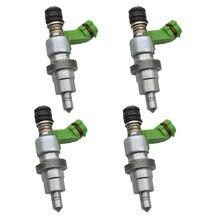 100%-inyector de combustible japonés para TOYOTA, inyector de inyección Original de 4 unidades, para RAV4 Avensis 2325028070 2013-2018
