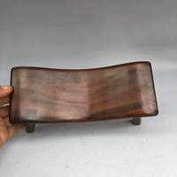 Ancient Handmade Wooden Bench, Wood Furniture, Solid Wood Neck Guard Pillow, Sleeping Pillow, Delicate Gifts for Middle and Old