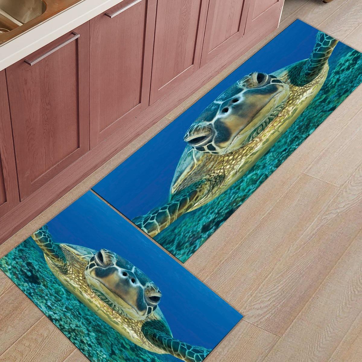 Tortue de mer saleté débris boue trappeur accessoire ensembles tapis de sol naturel coco zone coureurs Accent tapis porte tapis entrée
