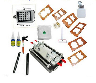 LY 947B Phone repair LCD Separator machine+ UV Glue drying lamp, UV glue, Moulds, dispergator, cutting wire, separating rods