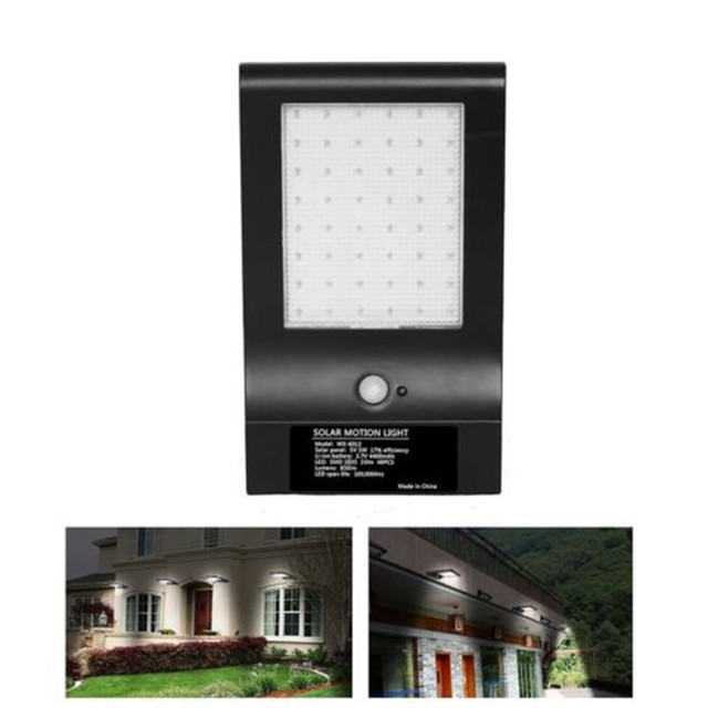 2X 36/48LED Bright Solar Lamp Outdoor Street Security Road Light Wall Garden Solar Lamp 3Lighting Mode Motion Sensor PIR Lamp