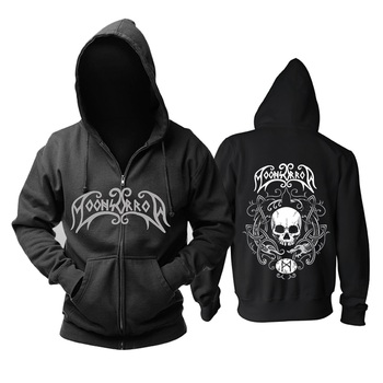 7 designs Zipper Sweatshirt Nice soft and warm Moonsorrow Rock hoodies Viking black metal sudadera Skull fleece shell jacket