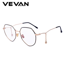VEVAN 2018 Fashion Anti-Blu-ray Eyewear Frames Women Brand Glasses Frame UV400 Eyeglasses Optical With Box
