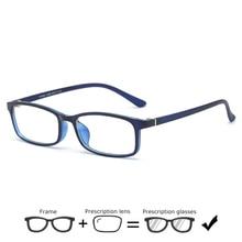 Ultralight TR90 Prescription Glasses Frame Women Eyeglasses Square Spectacles Myopia Optical Eyewear Men Casual Hyperopia gafas