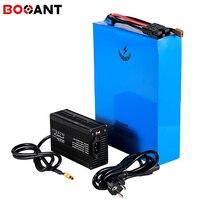 Potente batería de bicicleta eléctrica 4500w 48v 50ah para Samsung 18650 cell 13S 48v 3000w scooter batería de litio con cargador 5A