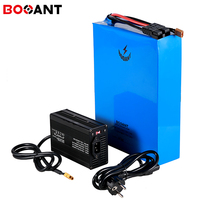 Powerful 4500w 48v 50ah Electric bicycle battery for Samsung 18650 cell 13S 48v 3000w scooter lithium battery with 5A Charger