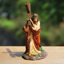 "Christian Gifts ""Crucifix Jesus Resin Statue"""