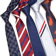 Hommes cravates designers de mode Dot Rayé Plaid cravate de mariage  affaires slim 6 cm Maigre cravate JACQUARD TISSÉ cravate Pou.