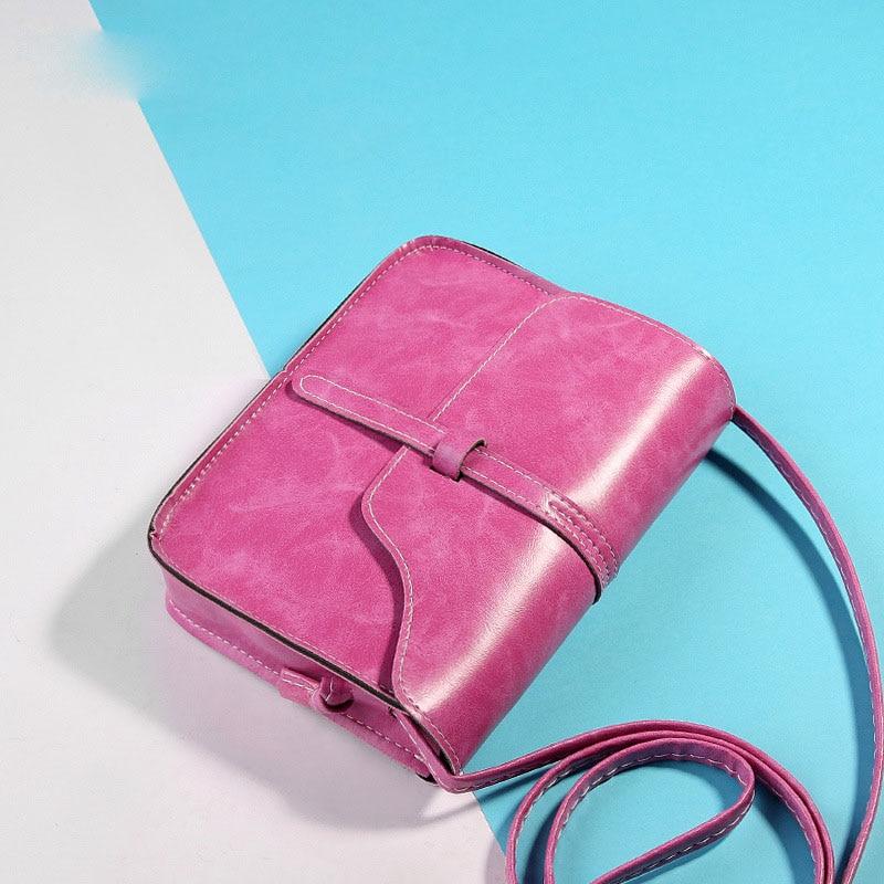 여자 메신저 가방 패션 여자 핸드백 정품 PU 핸드백 작은 크기 패션 잠금 레이디 진짜 어깨 가방 SS0181