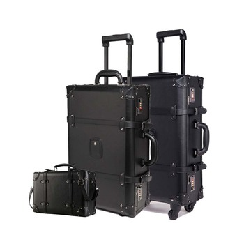 Retro Rolling Vintage Cabin Luggage Apparels Bags Luggage Travelling Bags