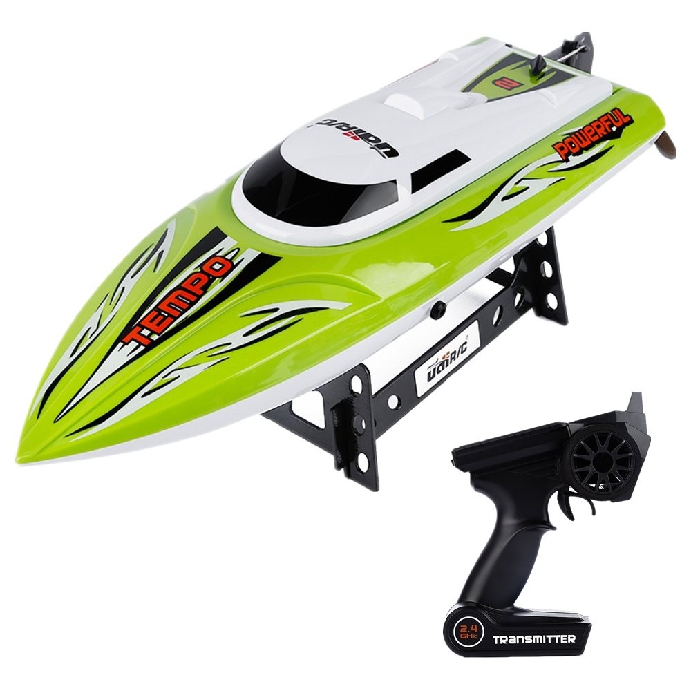 High Speed RC Boats 2.4GHz 4CH Radio Control Boat with Water Cooling System Brushed Motor Model RC Speedboat Toys UDI 002 VS 001 aluminum water cool flange fits 26 29cc qj zenoah rcmk cy gas engine for rc boat