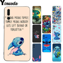 Yinuoda Lilo and Stitch Ohana sweety Stitch Painted Phone Case for Huawei P9 P10Plus Mate9 10 Mate10 Lite P20 Pro Honor10 View10(China)
