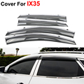 4pcs/lot Window Visors For Hyundai IX35 IX-35 2012 2013 2014 2015 Sun Rain Shield Stickers Covers Car Styling Awnings Shelters