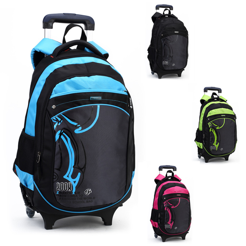 Rolling School Backpacks For Boys | Crazy Backpacks