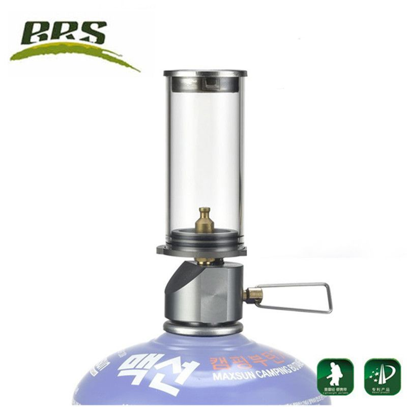 BRS-55 Outdoor Camping Lamp Ultralight Portable Gas Lamp Tourist The Tent Night Lights Camping Gas Lantern