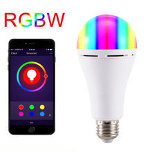 E27 Colorful LED Smart WIFI Bulb APP Remote Control RGB Light Voice Romantic Lamp