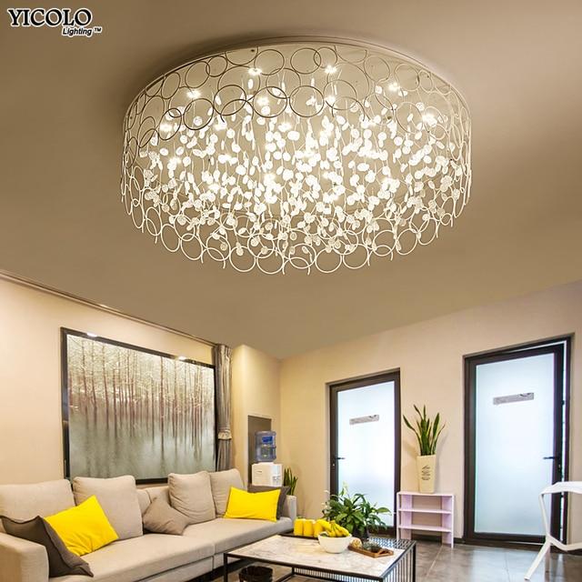 Art Designer Led Ceiling Lights In Round Shape Lamps For Living Room