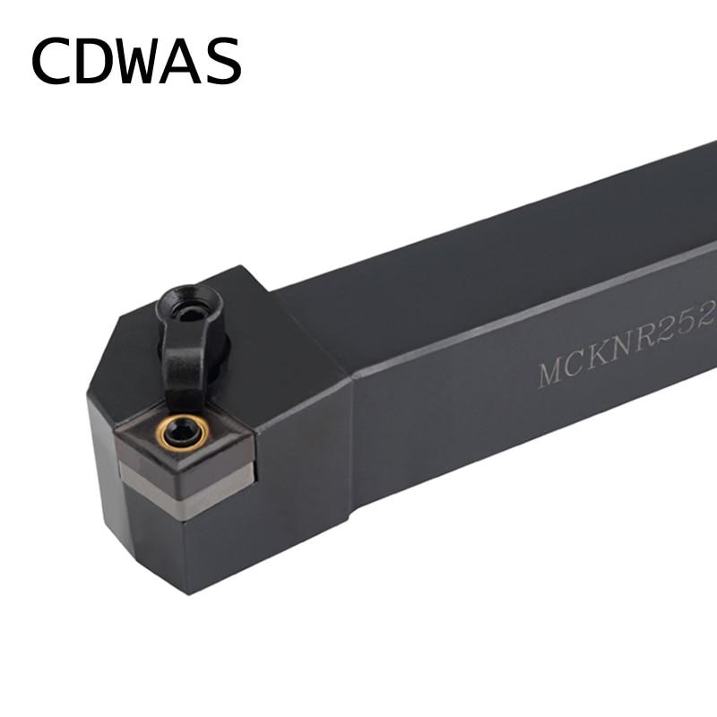 External Turning Tool Lathe Cutter Carbide Inserts Machine CNC Holder Tool MCKNL2020K12