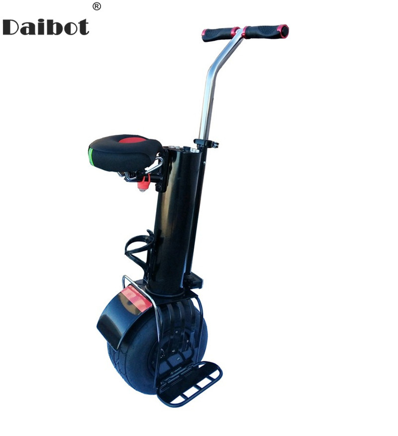 Daibot Monowheel monocycle électrique une roue auto équilibrage Scooters 60V 500W Scooter électrique avec siège pour adultes