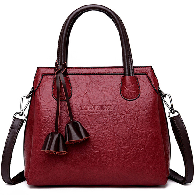 New Luxury Handbags Women Bags Designer Leather Handbags Bags For Women 2018 Large Hand Bag Bolsa Feminina Top-handle Bags Sac