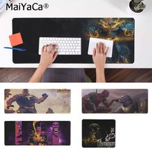MaiYaCa Your Own Mats Marvel Thanos Laptop Computer Mousepad Free Shipping Large Mouse Pad Keyboards Mat