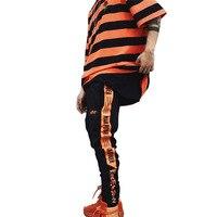 New Cotton Gothic Style Full Length Pant Hip Hop Sweatpants For Men High Quality Hip Hop Streetwear Joggers Pants Joggers Pants