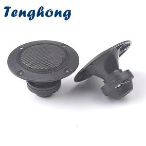 Image 1 - Tenghong 2pcs 4Inch Audio Piezoelectric Speaker 4Ohm 45W Tweeter Treble Audio Speaker Piezo Loudspeakers For Home Audio DIY