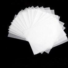 500 шт./лот, тонкая полупрозрачная бумага для рисования, прозрачные китайские буквы, пустая бумага для копировальных книг