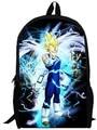 13inch dragon ball backpack children anime primary School Kids bag dragon ball Z Resurrection 'F' Cartoon boy men bags