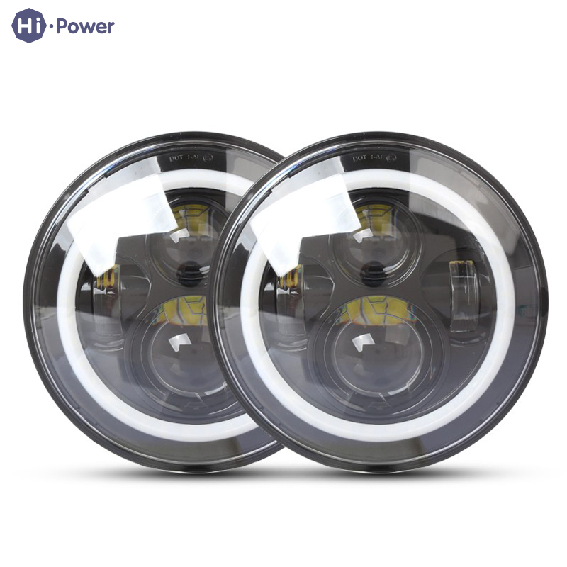 Hi-power Car Work Lamp 75W 6000K 6200LM LED Driving Fog Lights Off Road Universal Work Light Motorcycle Headlight Assembly