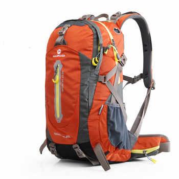 Maleroads 40L 50L Outdoor Hiking Backpacks Climbing Bags Waterproof Hiking Bag Sports Backpack With Rain Cover Climbing Bag