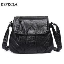 REPRCLA брендовая дизайнерская женская сумка-мессенджер через плечо из мягкой искусственной кожи сумка на плечо высокое качество модные женские сумки