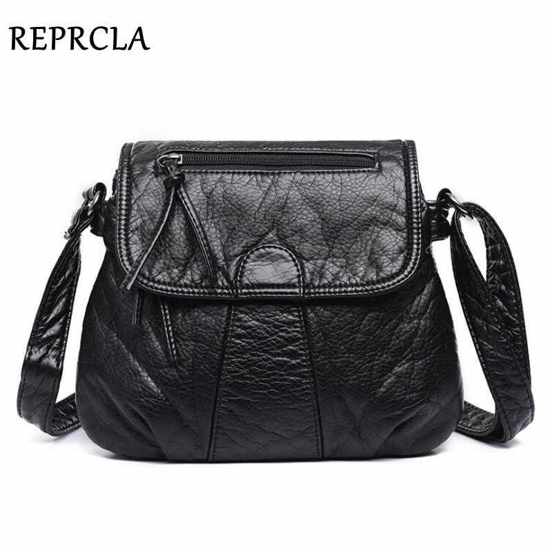 7e212a5727b9 Reprcla Брендовая Дизайнерская обувь Для женщин Курьерские сумки через  плечо из мягкой искусственной кожи Сумка Высокое