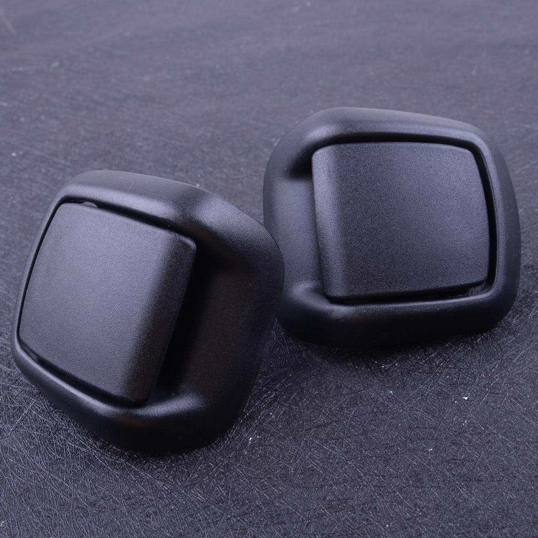 DWCX 1 Pair Car Front Right Left Seat Tilt Handle 1417520 1417521 Fit For Ford Fiesta MK6 VI 3 Door 2002 - 2005 2006 2007 2008