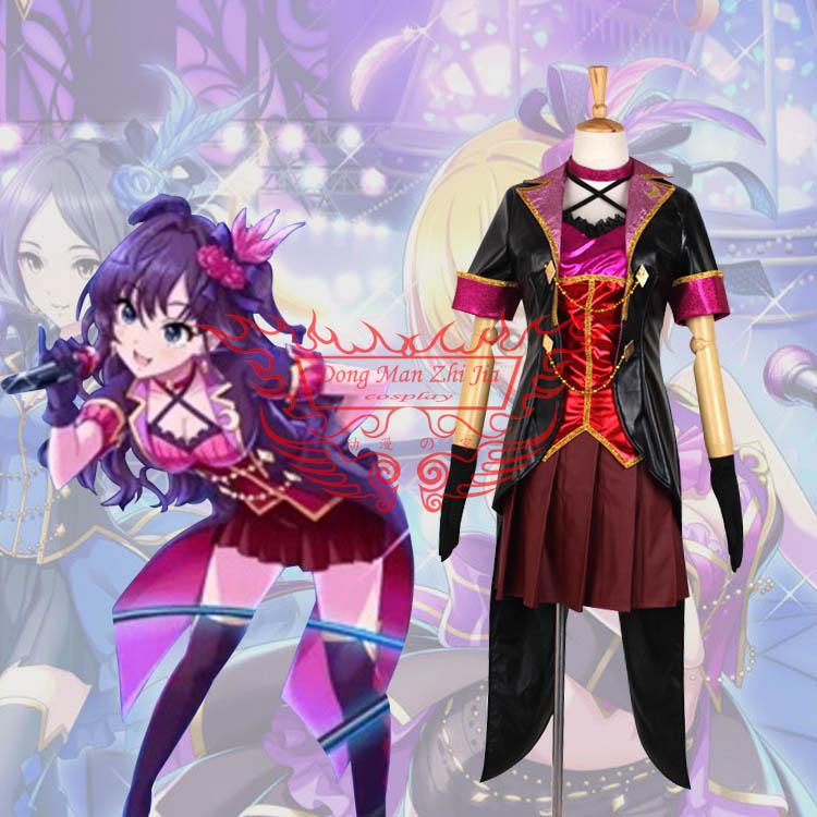 THE IDOLM@STER CINDERELLA GIRLS Shiki Ichinose Cosplay Costume ...