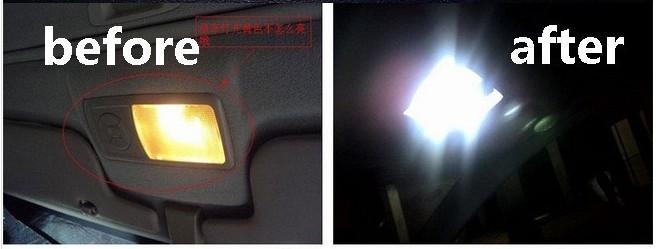 4 шт. 31 мм 36 мм 39 мм 41 мм с c5w c10w canbus автомобиля нет ошибка авто гирлянда света 12 4014 СМД салона купол лампа настольная лампа постоянного тока 12 в