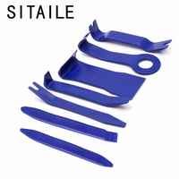 SITAILE 7pcs Auto Trim Removal Pry Open Tool Diagnostic Tool Kit For Car Dash Radio Door