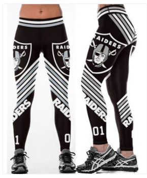 Unisex Football Team Raiders 01 Print Tight Pants Workout Gym Training Running Yoga Sport Fitness Exercise Leggings Dropshipping