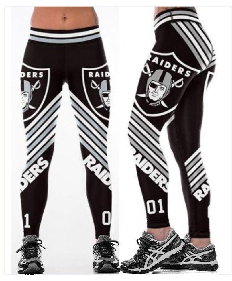 Unisex Football Team Raiders 01 Print Tight Pants Workout Gym Training Running Yoga Sport Fitness Exercise Leggings Dropshipping