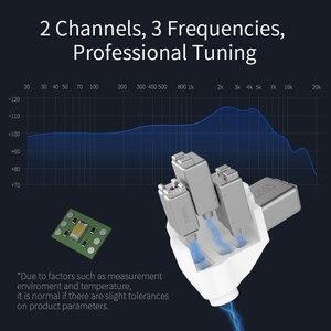 Image 5 - CCA A10 5BA dans loreille écouteur 5 Armature équilibrée HIFI surveillance écouteur avec câble 2PIN détachable CCA A10 C16 KZ AS10 AS16