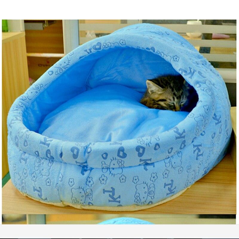 Excelente buena calidad suave y cálida casa de invierno del animal doméstico sac