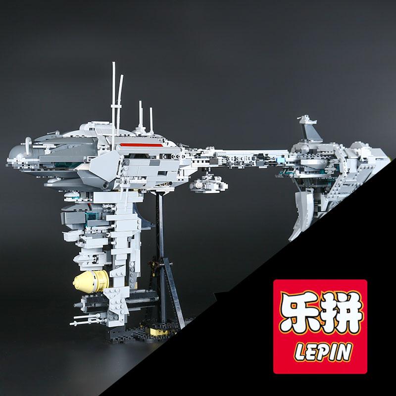 LEPIN 05083 Star 1736Pcs War MOC Series The Nebulon B Medical Frigate Set children Educational Building