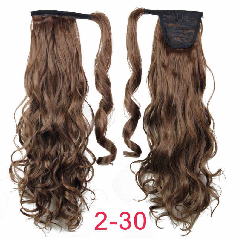 """MSIWIGS ложная повязка на голову на волшебную ленту синтетический волнистый женский накладные волосы """"конский хвост"""" термостойкий натуральный зажим для наращивания волос"""