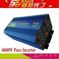 Пиковая мощность 8000 Вт Инвертор Чистая синусоида DC 12 В к AC 110 В/220 В ~ 240 В 50 Гц или 60 Гц Чистая синусоида Инвертор 4000 Вт продолжает