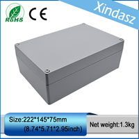 (XD FA6 1)222*145*80mm Die Cast Aluminum Enclosure IP65 & Sealed Die Cast Aluminum Enclosures