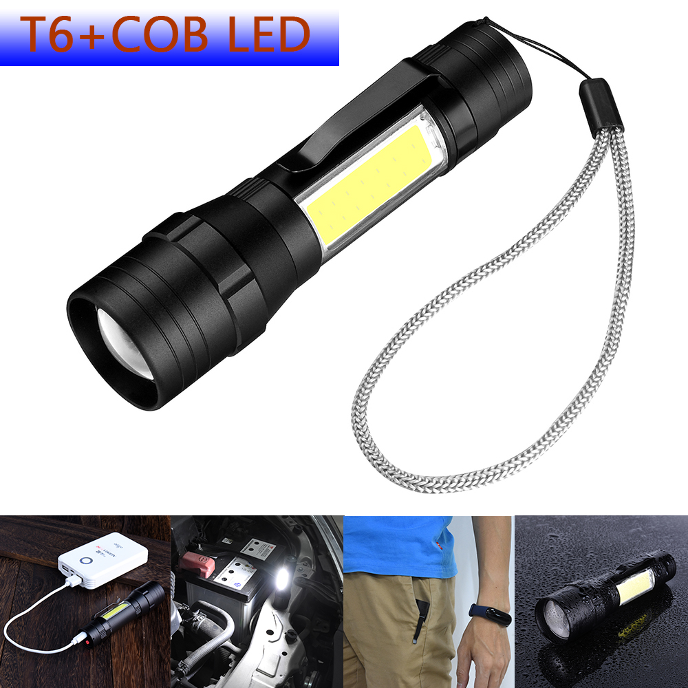 Купить с кэшбэком Lumen Work Light LED COB Built-in Rechargeable Battery Working Lamp Dual USB Interface Portable Lantern  D25