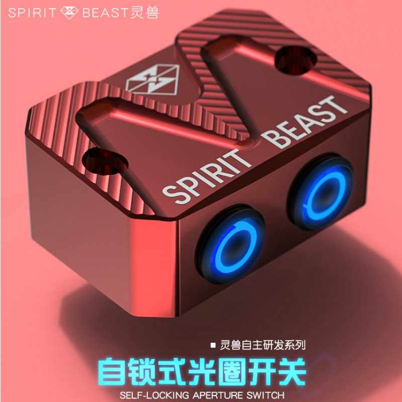 Spirit Beast Motorcycle Modified Switches Very Cool Styling